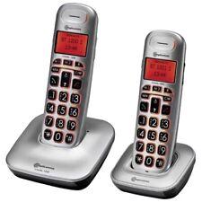 amplicomms BigTel 1202 Schnurloses Seniorentelefon extra große Tasten