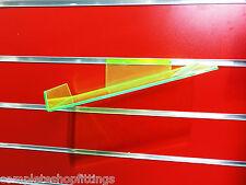 SLATWALL SLATBOARD DISPLAY SHELF/ SHELVES 23x11 cm SIZE AND PACKS: SHOE, BAGS