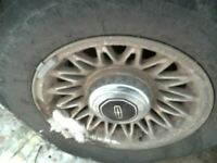 Wheel 15x6-1/2 Lacy Spokes Fits 97 LINCOLN & TOWN CAR 263902