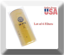 6 X 1R0716 Full Flow Spin-on Oil Filter Fits: Kenworth Advance Mixer Ford GMC