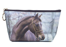 Arab Horse Toiletry Cosmetic Purse Image both sides