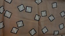 VINTAGE BEAUTIFUL !!!  ART DECO LOOK Fabric!  2 pieces! Great Pattern!