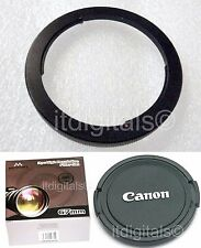 For Canon SX40 HS UV PL FLD Filter + Metal Adapter Ring As (FA-DC67) + Lens Cap