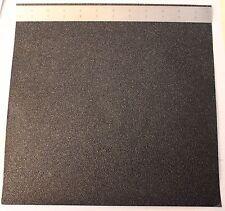 """BooDad's Grips Gun Grips Material Sheet 12""""x12"""" BLACK Textured Rubber Grip Tape"""