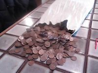 1930-1939 wheat cents 4 bags of 5000 at least 20% MINTMARKED D OR S NICE COINS!