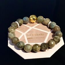 Gorjana Power Gemstone for Inspiration Beaded Bracelet / LABRADORITE