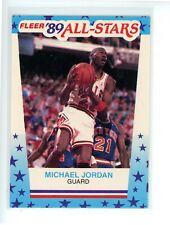 1989-90 Fleer Stickers MICHAEL JORDAN #3 HOF Chicago Bulls GOAT