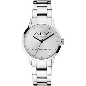 Orologio Donna ALV By Alviero Martini ALV0001 Bracciale Acciaio Silver NEW