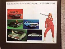 1967 Dodge Full Line Sales Brochure