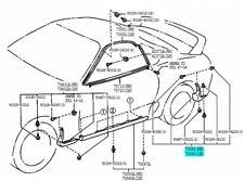 TOYOTA 75065-19045 75066-19045 Quarter Moulding Lower RH LH Sets Genuine SUPRA