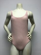 Billabong Women's Tanlines One Piece Swimsuit - MEDIUM  (Barely Blush)