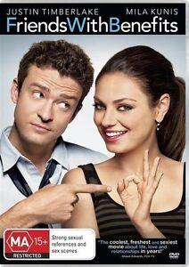Friends With Benefits (DVD, 2011) Region 4 - Mila Kunis, Justin Timberlake