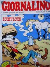 Giornalino 44 1985 La Colonia di O. Scarpelli - Lucky Luke - Piccolo Dente [C19]