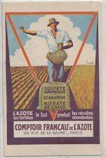 1930 nitrate de chaux - azote - Paris