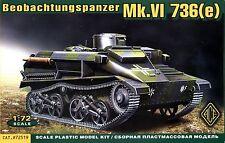 ACE 1/72 72519 WWII German Beobachtungspanzer Mk.VI 736(e)