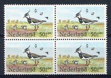 Nederland PLAATFOUT 1301 P, postfris ; blok van 4
