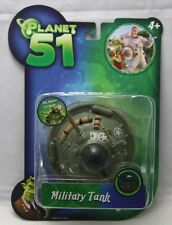 Movie 'Planet 51' Vehicle : 'Military Tank' by Jazwares 2009