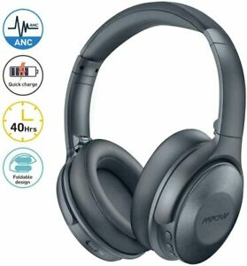 Mpow H17 Active Noise Cancelling Bluetooth Headphones Over Ear Deep Bass