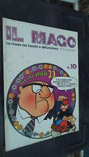 IL MAGO N. 10 GENNAIO 1973 - LA RIVISTA DEI FUMETTI E DELL'UMORISMO