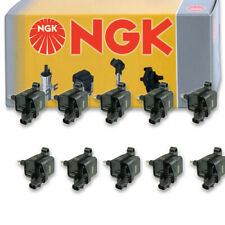 10 pcs NGK Ignition Coil for 2013-2014 SRT Viper 8.4L V10 - Spark Plug Tune jm