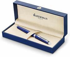Waterman Hemisphere Bright Blue Fountain Pen Fine Pt  New In Box