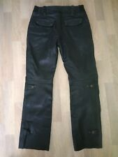 Ladies leather Frank Thomas motorcycle trousers size 16