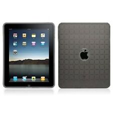 CHEAP IPAD 1 CASE Cover Smoke Grey Facet Premium Crystal Silicone Skin **USA**