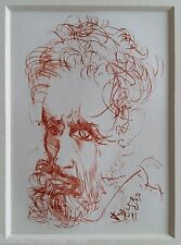 Salvador DALI (1904-1989) Radierung Anno 1968 Wvz.# M/L 289 : Michelangelo