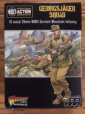 Bolt Action, 2nd Edition: German Gebirgsjager Squad WLG402212001