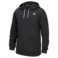 Adidas Men's Black Badge Of Sport Logo Ultimate ClimaWarm Pullover Hoodie