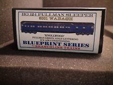 HO BRANCHLINE TRAINS 5031 WABASH 12-1 PULLMAN SLEEPER BLUEPRINT SERIES