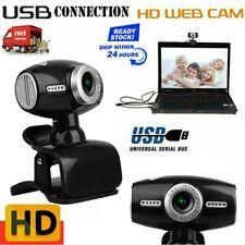 HD Webcam Kamera USB 2.0/3.0 Mikrofon für Computer PC Laptop Notebook Windows 10