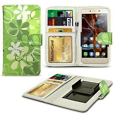 For Apple iPhone 3GS - Clip Printed Series PU Leather Wallet Case