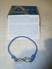 Avon Blue Stretchy Empowerment Bracelet Small NEW