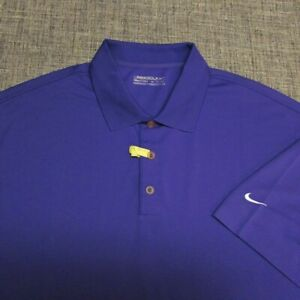 NIKE GOLF FIT DRY POLY GOLF SHIRT--2XL--DRY CLEANED--TOP SPOTLESS QUALITY!!