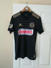 PHILADELPHIA UNION FC OFFICIAL ADIDAS BIMBO MLS 2018/20 HOME SHIRT S MINT RARE