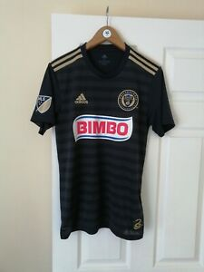 PHILADELPHIA UNION FC OFFICIAL ADIDAS BIMBO MLS 2018/19 HOME SHIRT S MINT RARE