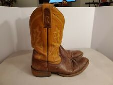 Old Vintage Men's Rod Patrick Leather Western Cowboy Boots Size 10 A