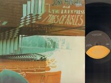 JONI MITCHELL Miles of Aisles 2 LP foc GATEFOLD The L.A. Express LIVE