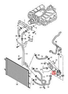 Genuine AUDI A6 allroad quattro Avant S6 A6L 4F 4F2 4F5 Coolant Pump 4F0965569