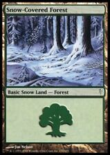 MTG 1x Snow-Covered Forest-Coldsnap * allemand FOIL SL *