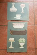 Pencil Detailed Vases Pots Cups And Boat