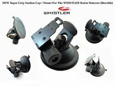 * NEW Super Grip Suction Cup / Mount For The WHISTLER Radar Detector (Durable) *