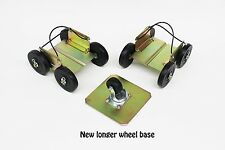 Extreme Power Wheels drivable snowmobile dollies shop trailer dolly Caddies