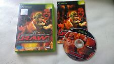wwf raw Xbox EXCELLENT CONDITION complete with book