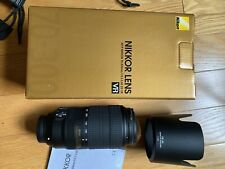 Nikon AF-P 70-300mm F/4.5-5.6E ED VR FX FULL FRAME - MINT 2 Month old
