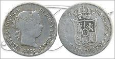 España - Monedas Isabel II- Año: 1865 - numero 00283 - BC 10 Centimos 1865 Madri