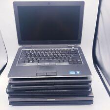 Lot of  6 DELL Laptops Mix Models 4GB RAM I3,I5,I7 (GRADE C)