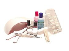 KIT BASICO B6LED 24 - Uñas de gel con moldes  manicura, pedicura - Blucc Style