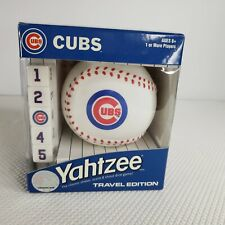 New MLB Chicago Cubs Yahtzee Travel Game
